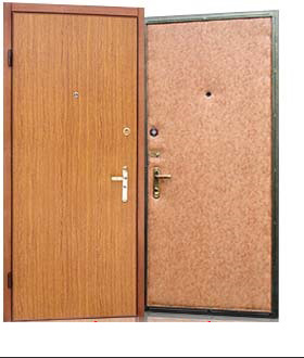 металлическая входная дверь белая винилкожа