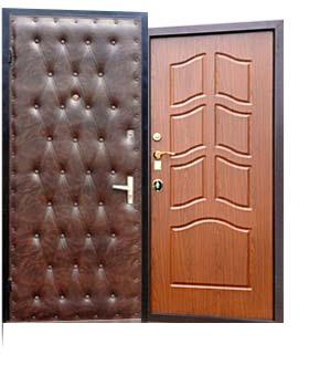 входные двери мдф и винилкожа